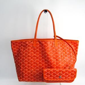 ゴヤール(Goyard) サン・ルイ PM レザー,キャンバス トートバッグ オレンジ
