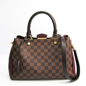 ルイ・ヴィトン(Louis Vuitton) ダミエ ブリタニー  N41675 レディース ハンドバッグ,ショルダーバッグ ボルドー,ダミエ