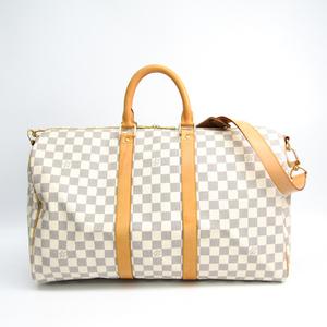ルイ・ヴィトン(Louis Vuitton) ダミエ キーポル・バンドリエール45 N48223 ボストンバッグ アズール