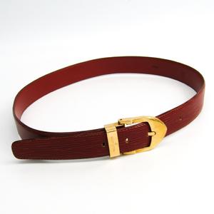 ルイ・ヴィトン(Louis Vuitton) エピ サンチュール・クラシック R15003 メンズ エピレザー ベルト ブラウン,ゴールド 85