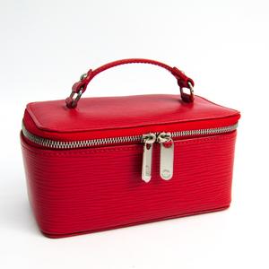 Louis Vuitton Epi Jewelry Case M6009E Jewelry Case Rouge Epi Leather