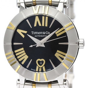 Tiffany Atlas Automatic Stainless Steel,Yellow Gold (18K) Women's Dress Watch Z1300.68.16A10A00A