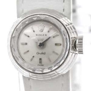 Rolex Orchid Mechanical White Gold (18K) Women's Dress Watch