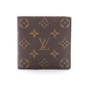 ルイ・ヴィトン(Louis Vuitton) モノグラム ポルトフォイユ マルコ ユニセックス モノグラム 財布(二つ折り) ブラウン