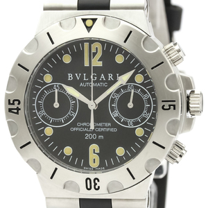 Bvlgari Diagono Automatic Stainless Steel Men's Sports Watch SC38S