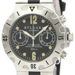 Bvlgari Diagono Automatic Stainless Steel Men's Sports Watch SC38S
