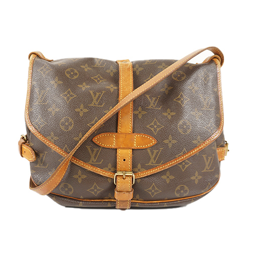 62cc0a9ed4e4 Auth Louis Vuitton Shoulder Bag Monogram Saumur 30 M42256