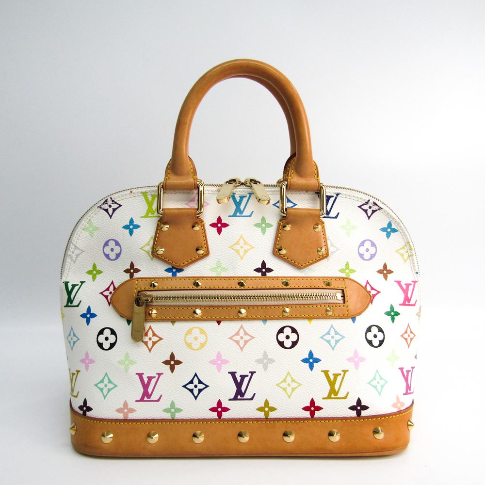 ルイ・ヴィトン(Louis Vuitton) モノグラムマルチカラー アルマ M92647 レディース ハンドバッグ ブロン