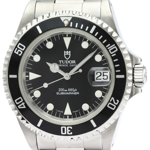 Tudor Submariner Automatic Stainless Steel Men's Sports Watch 79190