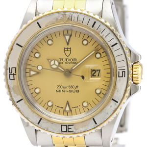 Tudor Mini Sub Automatic Gold Plated,Stainless Steel Unisex Sports Watch 73091