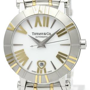 Tiffany Atlas Automatic Stainless Steel,Ceramic,Yellow Gold (18K) Women's Dress Watch Z1300.68.16A20A00A