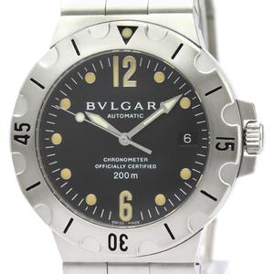 ブルガリ(Bvlgari) ディアゴノ 自動巻き ステンレススチール(SS) メンズ スポーツウォッチ SD38S