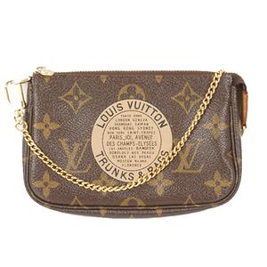 c22400ef3472 Auth Louis Vuitton Monogram Mini Pochette Accessoires T B