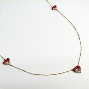 Louis Vuitton LV & V Women's Necklace LV & V Strass Long Necklace M68160