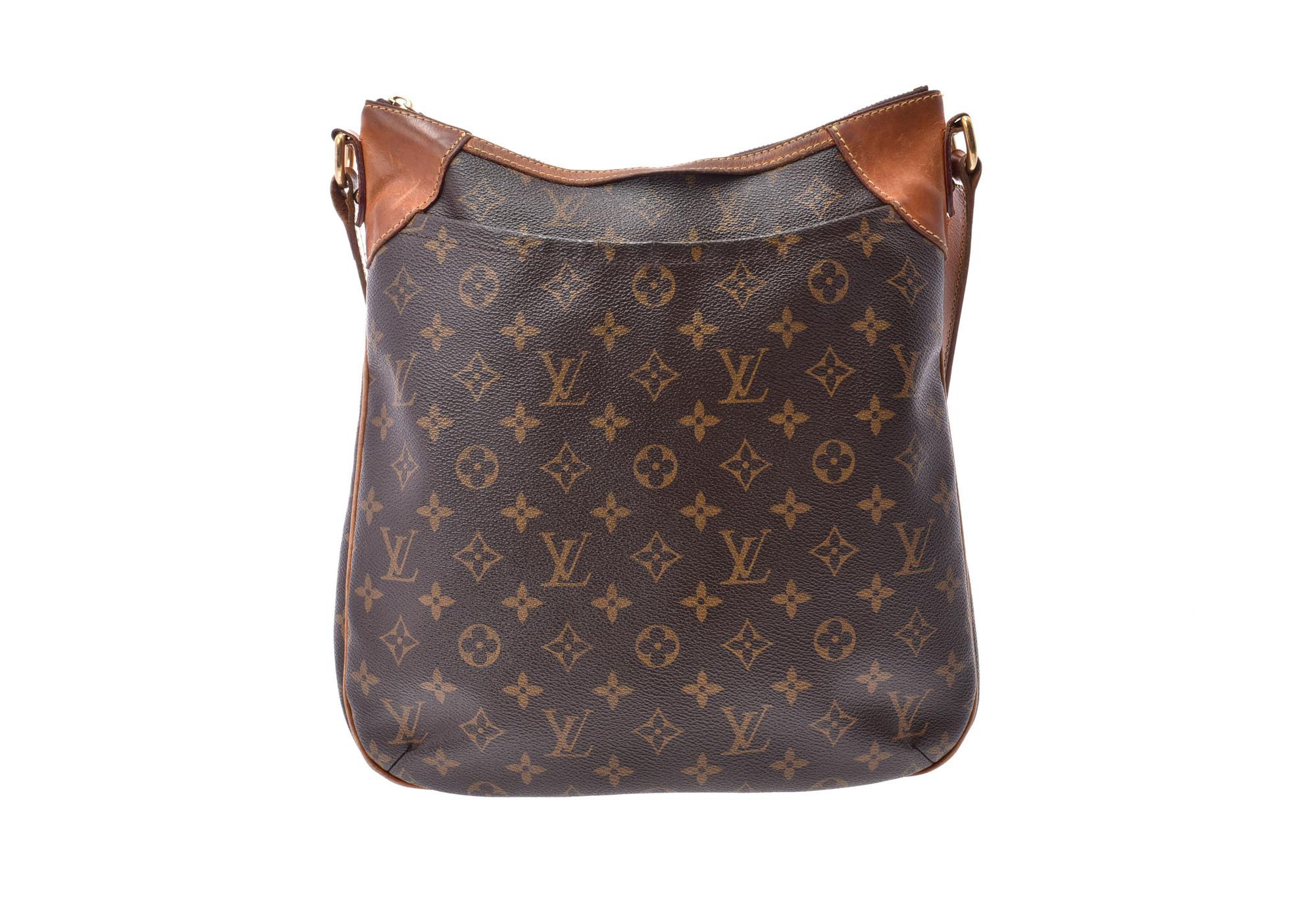 c88ab933c37d Authentic Louis Vuitton Monogram Odeon MM M56389 Shoulder Bag Mo  800000076432000