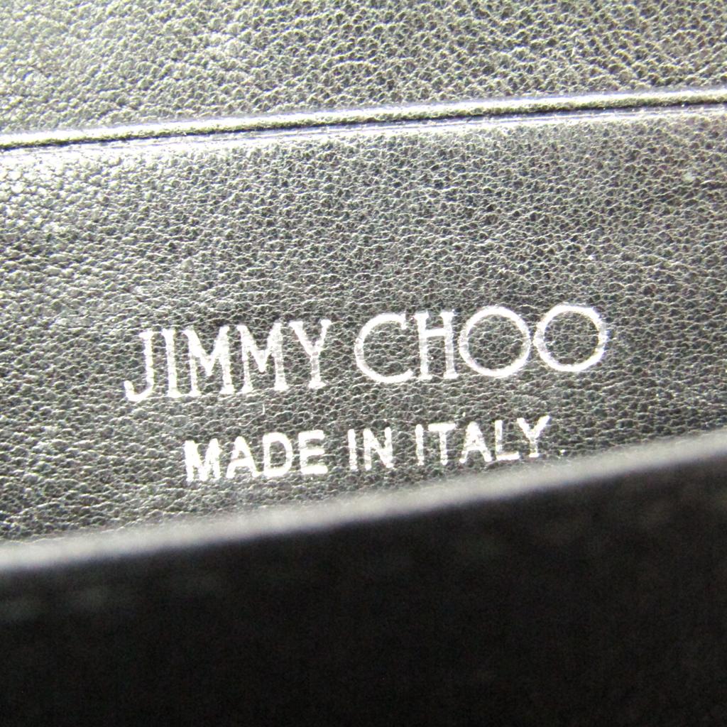 ジミー・チュウ(Jimmy Choo) NELLIE J000061163001 レディース レザー 小銭入れ・コインケース ブラック