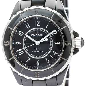 Chanel J12 Automatic Ceramic Men's Sports Watch H0685