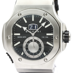 Bvlgari Daniel Roth Automatic Stainless Steel Men's Sports Watch BRE56BSLDCHS