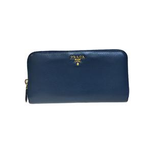 プラダ(Prada) Saffiano 1ML506 長財布(二つ折り) ブルー
