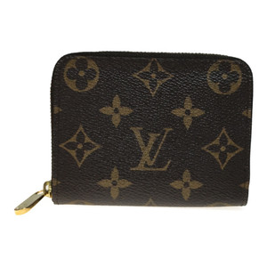 918497df2b98 Auth Louis Vuitton Monogram M60067 zippy Coin Purse coin Case