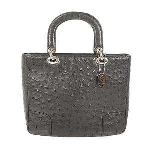 Auth Desiree Handbag JRA Leather Black