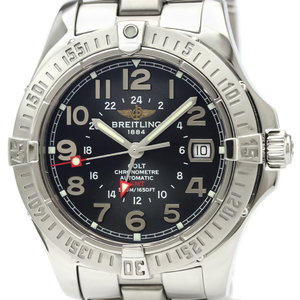 BREITLING Colt GMT Stainless Steel Automatic Mens Watch A32350