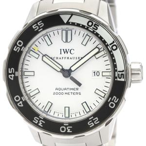 IWC アクアタイマー 自動巻き ステンレススチール(SS) メンズ スポーツウォッチ IW356805