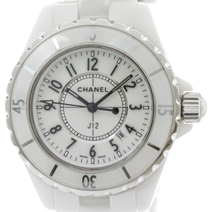 Chanel J12 Quartz Ceramic Women's Sports Watch H0968