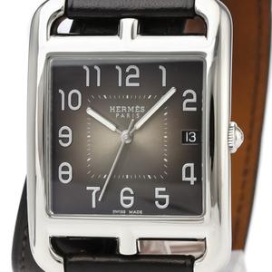 Hermes Cape Cod Quartz Stainless Steel Men's Dress Watch CC1.810
