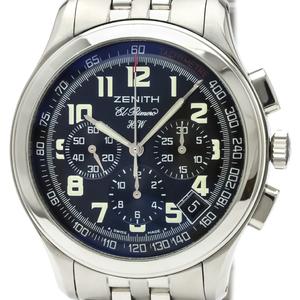 Zenith Class El Primero Mechanical Stainless Steel Men's Sports Watch 02.0500.420