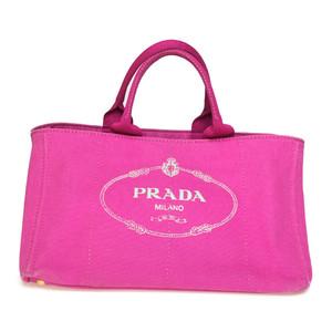 プラダ(Prada) カナパ BN1872 ハンドバッグ ピンク