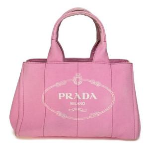 プラダ(Prada) カナパ B1877B ハンドバッグ ベビーピンク