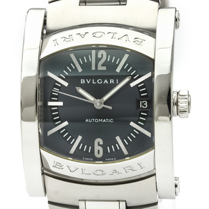 BVLGARI Assioma Steel Automatic Mens Watch AA44S