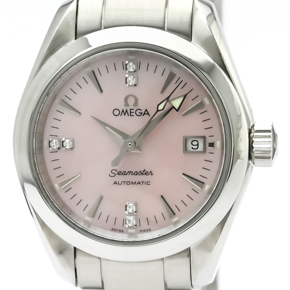 Omega Seamaster Automatic Stainless Steel Women's Dress Watch 2573.71