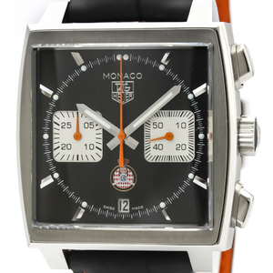 Tag Heuer Monaco Automatic Stainless Steel Men's Sports Watch CAW211K