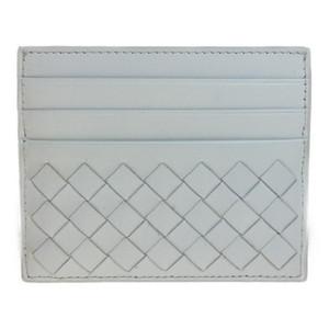 ボッテガ・ヴェネタ(Bottega Veneta) イントレチャート 162150 レザー カードケース ホワイト