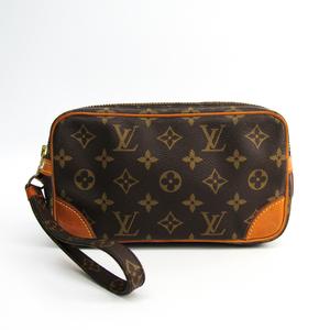 Louis Vuitton Monogram Marly Dragonne PM M51827 Women's Clutch Bag Monogram
