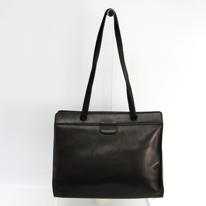 Hermes Women's Leather Shoulder Bag Dark Brown