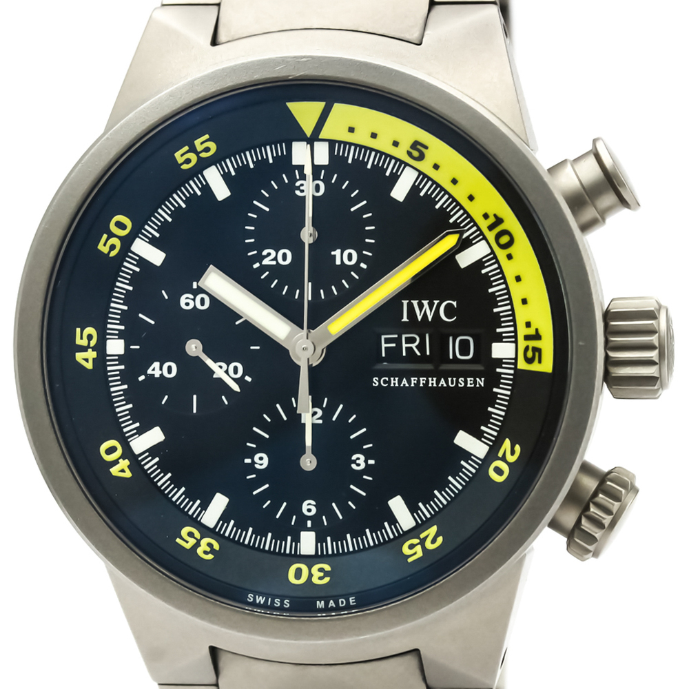 IWC Aquatimer Automatic Titanium Men's Sports Watch IW371903
