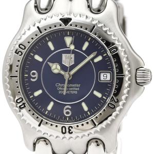 【TAG HEUER】タグホイヤー セル 200M クロノメーター ステンレススチール 自動巻き メンズ 時計 WG5114