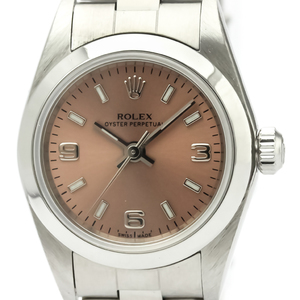 【ROLEX】ロレックス オイスターパーペチュアル 79080 ステンレススチール 自動巻き レディース 時計