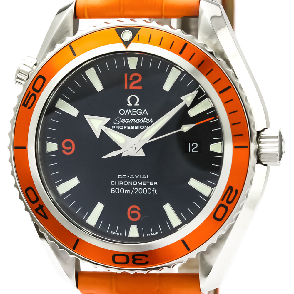 Omega Seamaster Automatic Stainless Steel Men's Sports Watch 2908.50.38