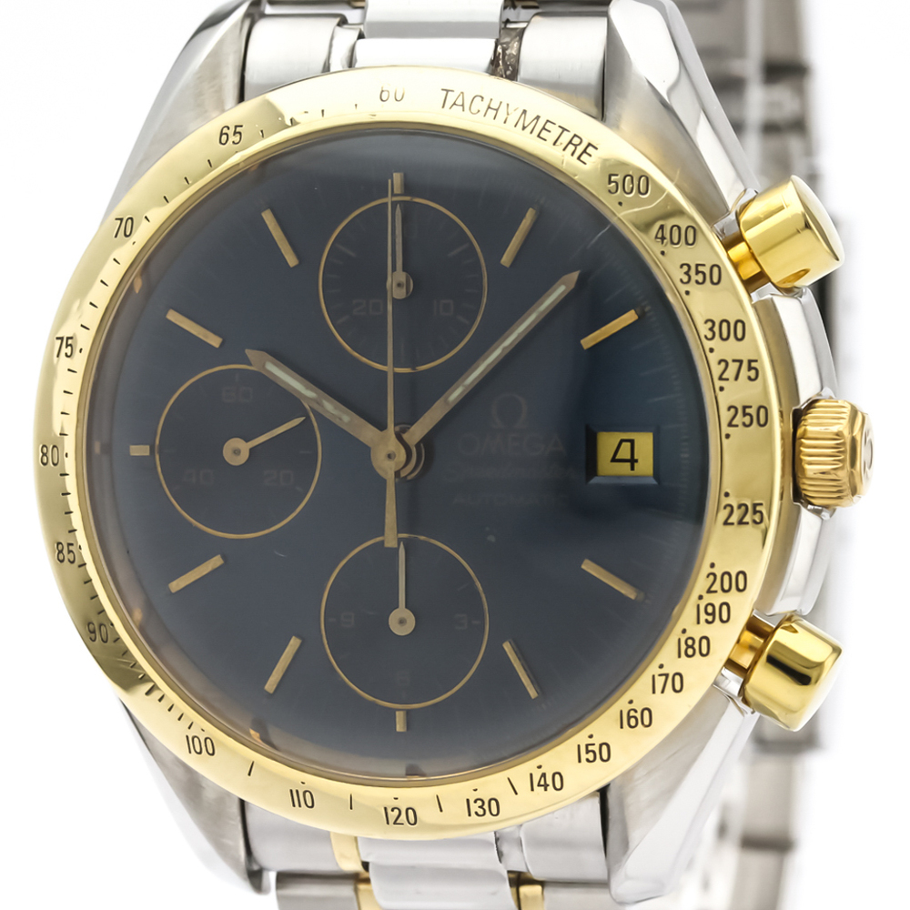Omega Speedmaster Automatic Stainless Steel,Yellow Gold (18K) Men's Sports Watch 3311.80