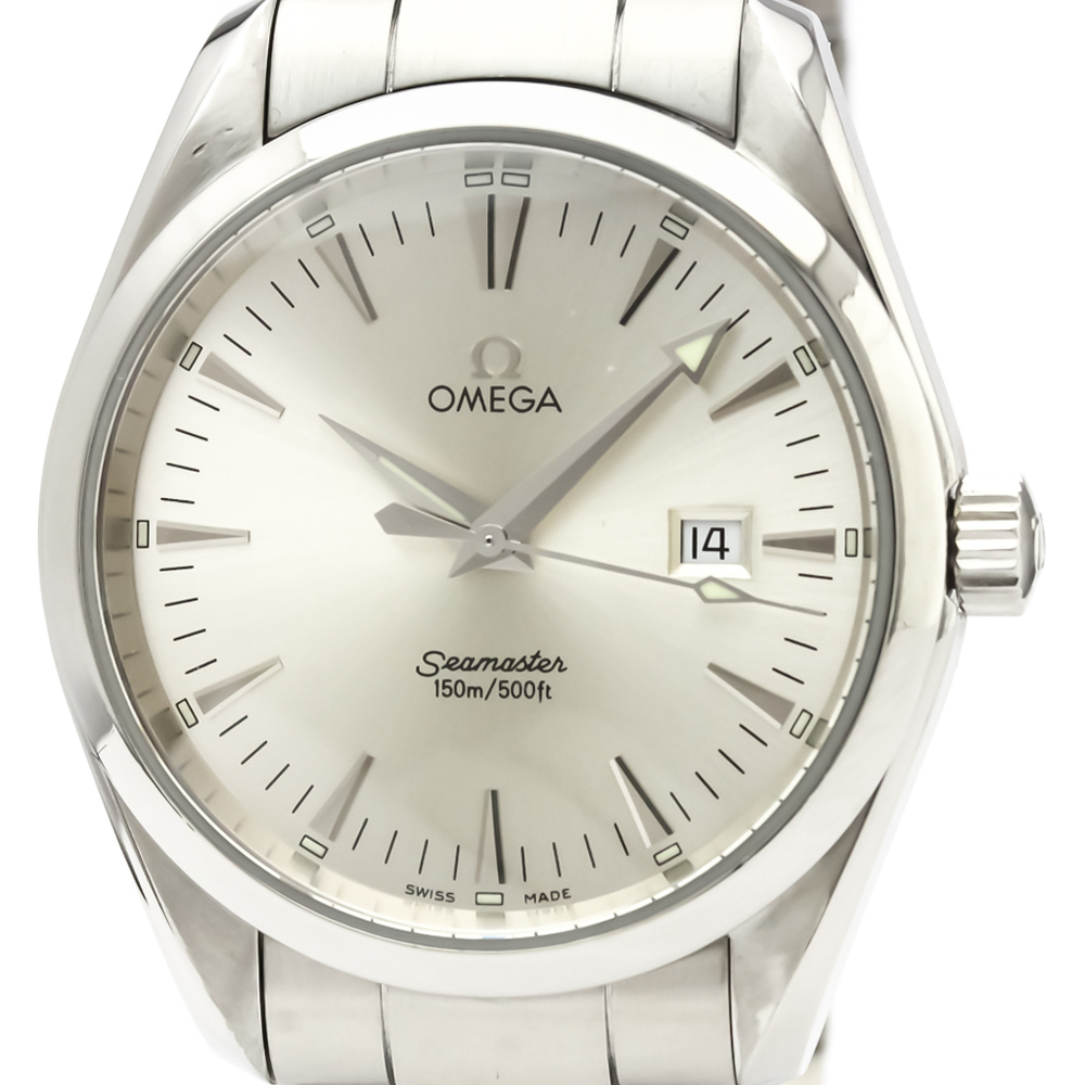 OMEGA Seamaster Aqua Terra Steel Quartz Mens Watch 2517.30