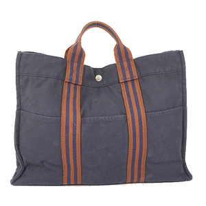 Auth Hermes Fourre Tout MM Navy