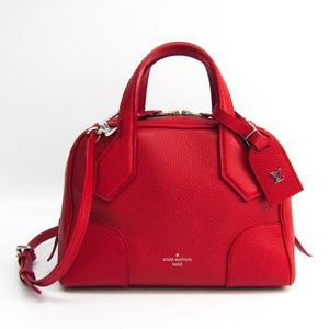 Louis Vuitton Taurillon Dorasoft BB M50214 Women's Handbag,Shoulder Bag Cerise
