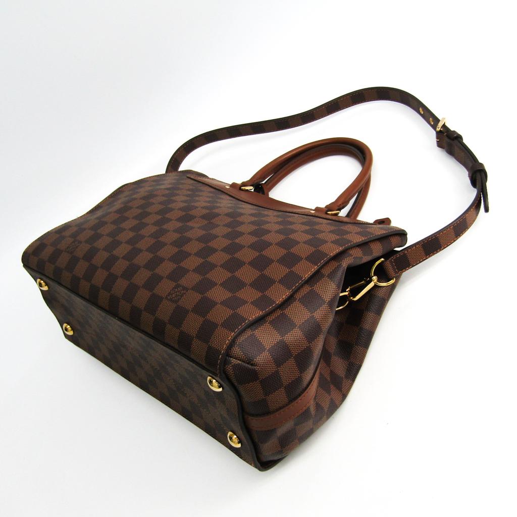 ルイ・ヴィトン(Louis Vuitton) ダミエ ダミエ・グリニッジ N41337 ハンドバッグ エベヌ