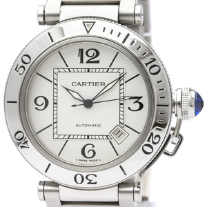 Cartier Pasha Automatic Stainless Steel Men's Sports Watch W31080M7