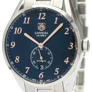 Tag Heuer Carrera Automatic Stainless Steel Men's Sports Watch WAS2114