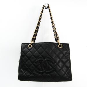 Chanel Petite · Timeless Tote PTT A18004 Women's Caviar Leather Handbag Black